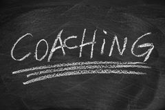 Coaching stock illustration