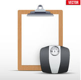 Coaching blank clipboard Stock Images