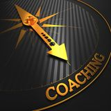 Coaching. Business Background. Royalty Free Stock Images