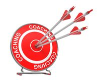 Coaching. Business Background. Stock Photography