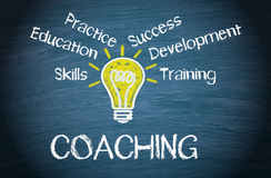 Coaching Business Concept Stock Photos