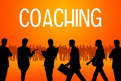 Coaching community. Working as a proficient team and learning from each other Stock Photography