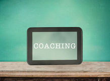 Coaching concept. Royalty Free Stock Photography
