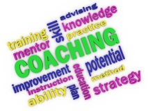 Coaching concept Royalty Free Stock Image