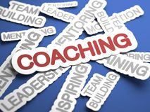 Coaching Concept. Royalty Free Stock Photo