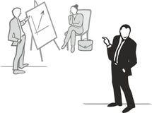 Coaching criticism Stock Image