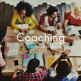 Coaching Educating Instructor Management Concept Royalty Free Stock Photos