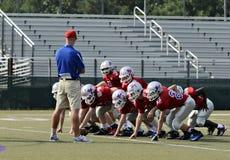 Coaching Football Royalty Free Stock Photography