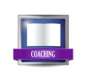 Coaching icon illustration design Stock Photo