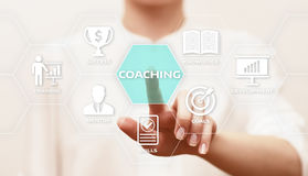 Coaching Mentoring Education Business Training Development E-learning Concept.  Stock Photo
