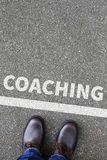 Coaching and mentoring education training workshop learning semi Royalty Free Stock Photo