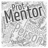 Coaching and mentoring word cloud concept word cloud concept  background Stock Image