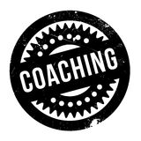 Coaching rubber stamp. Coaching stamp. Grunge design with dust scratches. Effects can be easily removed for a clean, crisp look. Color is easily changed Stock Photography