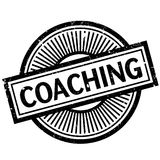 Coaching rubber stamp. Coaching stamp. Grunge design with dust scratches. Effects can be easily removed for a clean, crisp look. Color is easily changed Royalty Free Stock Photography
