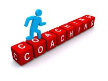 Coaching sign Stock Images