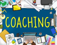 Coaching Training Mentor Teaching Coach Concept Stock Images