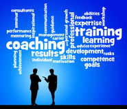 Coaching and training Royalty Free Stock Photos