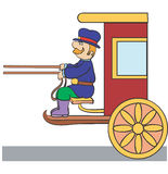 Coachman ilustração stock