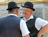 Coachmen in Crakow. Royalty Free Stock Photography