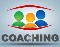 coachning Royaltyfri Bild