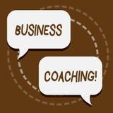 Coachning för affär för textteckenvisning Konsulterande expert för begreppsmässigt foto din förbättring för fälterfarenhet vektor illustrationer