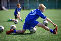 Coachningfotboll Royaltyfri Fotografi