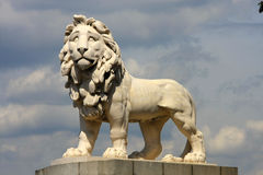 coade πέτρα λιονταριών Στοκ Εικόνα