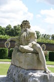 Coade stone statue of a River God, Surrey, England Royalty Free Stock Images