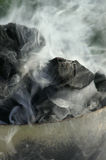 Coal. Smoke from burning coal Royalty Free Stock Photography
