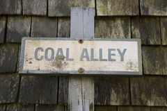 Coal Alley Nantucket royalty free stock photography