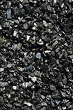 Coal anthracite in bulk. Royalty Free Stock Image