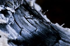 Coal (B&W) Royalty Free Stock Images