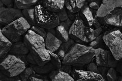Coal background Royalty Free Stock Photo