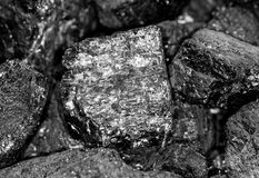Coal background Stock Images