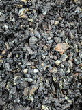 Coal black background mineral stone Stock Photos