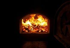 Coal boiler royalty free stock photos