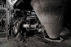 Coal breaker machinery Stock Photos