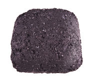 Coal briquette for BBQ Royalty Free Stock Photos