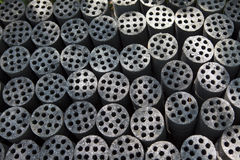 Coal briquettes Royalty Free Stock Images