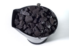 Coal bucket Stock Images