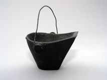 Coal Bucket Royalty Free Stock Image