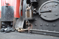 Coal bunker Royalty Free Stock Images