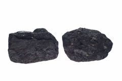 Coal, carbon nuggets Stock Photography