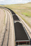 Coal cars Royalty Free Stock Photo