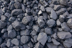 Coal cinder. The background of coal cinder Royalty Free Stock Image