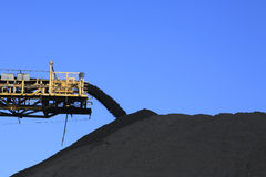Coal Conveyor Belt Stock Images