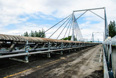 Coal conveyor bridge Royalty Free Stock Photography