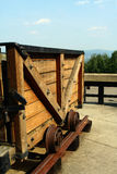 Coal Country Mining Cart Royalty Free Stock Photography