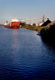 coal detroit load ship Στοκ Φωτογραφίες
