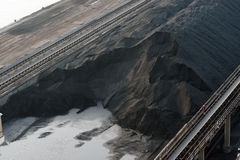 Coal for electricity production Royalty Free Stock Photography